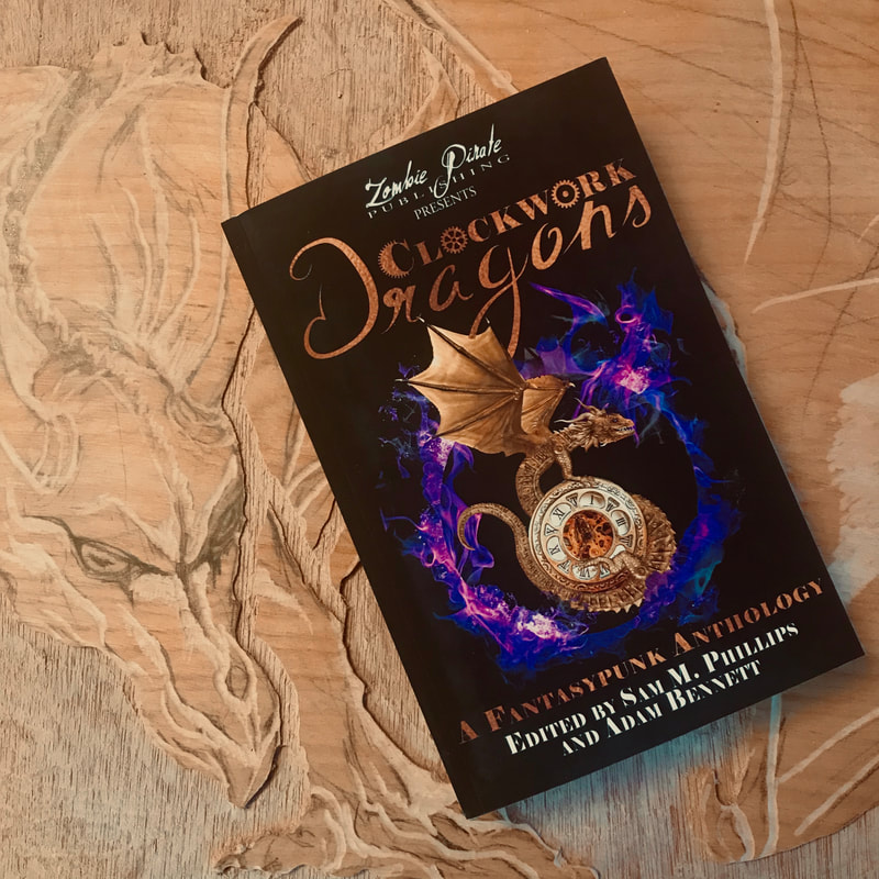 steampunk fantasy book dragons